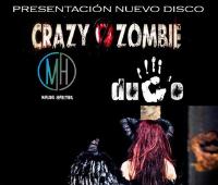 Crazy Zombie Presentación de nuevo disco.