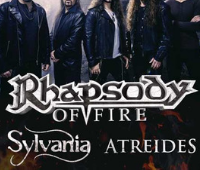 Rhapsody Of Fire + Sylvania + Atreides.