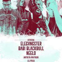 ELEGVNGSTER + BABI BLACKBULL + NEELO Artsita invitado Lil Peka.