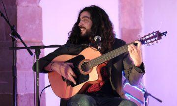David Manzano con Raúl Rivas, La Zíngara y Nayza Pérez – Domingos flamencos