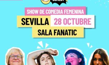 Riot Comedy – Show de comedia femenina – 20:00H