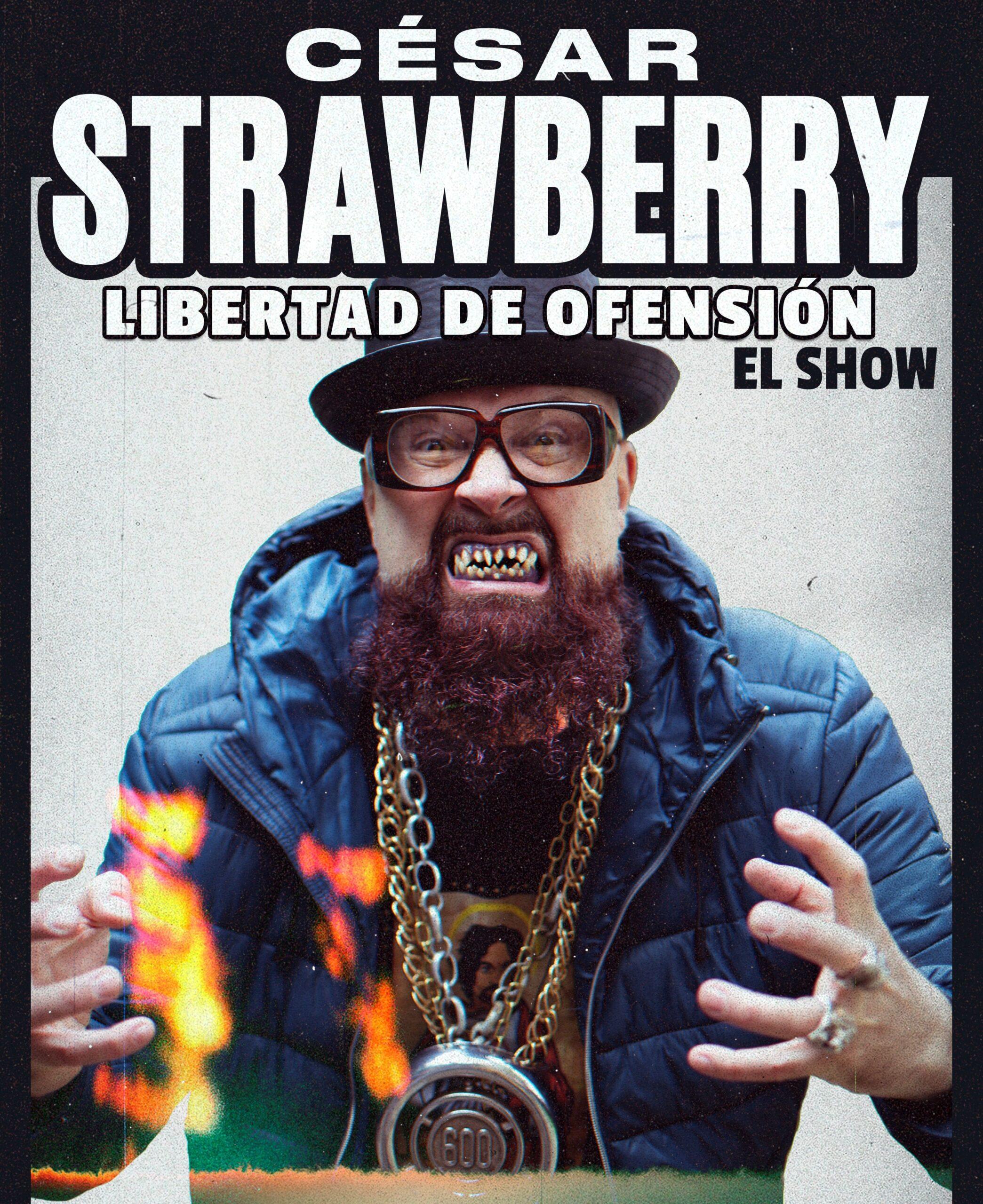 Cesar Strawberry en Sevilla